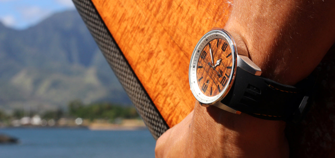 Pono Woodworks Koa Wood Wood Watches Rings Phone Cases