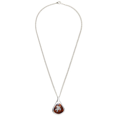 Latitude's Collection Honu Koa Necklace