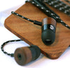 Koa Wood Earbuds (Sold Out...you just missed them)