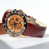 The Castaway Koa Wood Watch (copper)