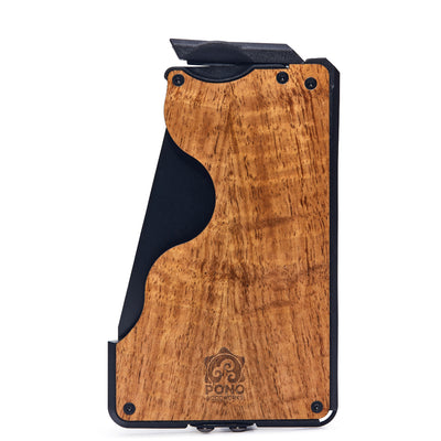 The Flip Side - Koa Wood Wallet