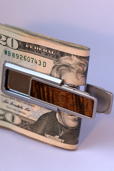 The Koa Wood Money Clip (SOLD OUT!!!)
