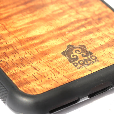 Koa Wood Phone Case, No Design, All Models