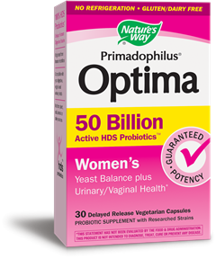 Primadophiluså¬ Optima Women's 50 Billion / 30 Veg Caps