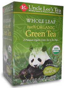 Whole Leaf, Organic Green Tea