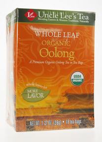Whole Leaf, Organic Oolong Tea