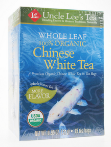 Whole Leaf, Organic White Tea