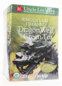 Whole Leaf, Organic Dragon Well Green Tea