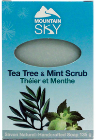 Tea Tree & Mint Scrub Bar Soap
