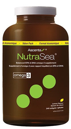 NutraSea / (Lemon) 240 softgels