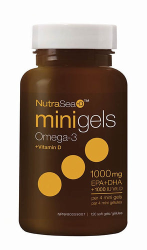 NutraSea+D Mini Gels / (Fresh Mint) 120 count