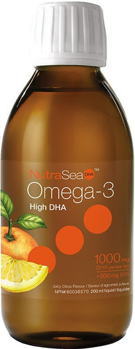 NutraSea DHA / (Juicy Citrus) 200 ml
