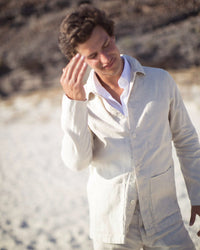 Men's Kite Jacket / Bone