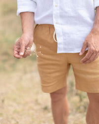 Men's Bo Shorts / Gold