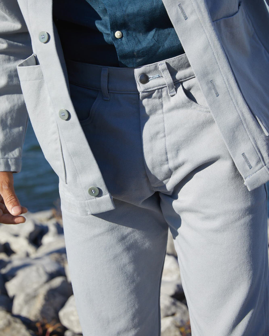 Men's Cham Pants / Steel