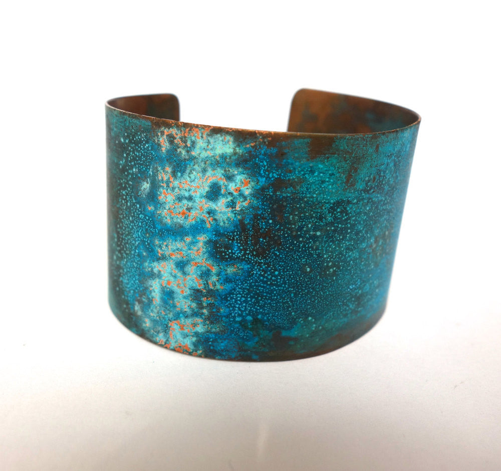 Verdigris Copper Cuff Bracelet Wholesale