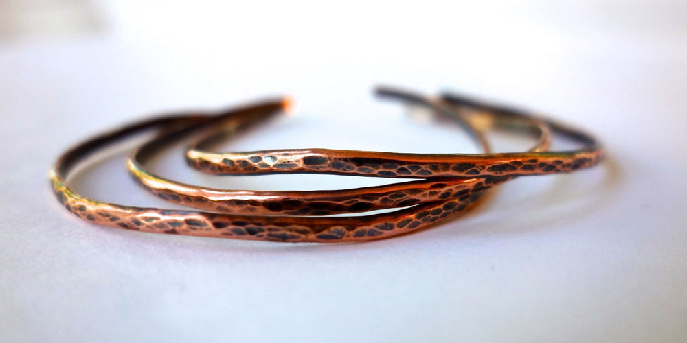 Copper Stacking Bangles Wholesale