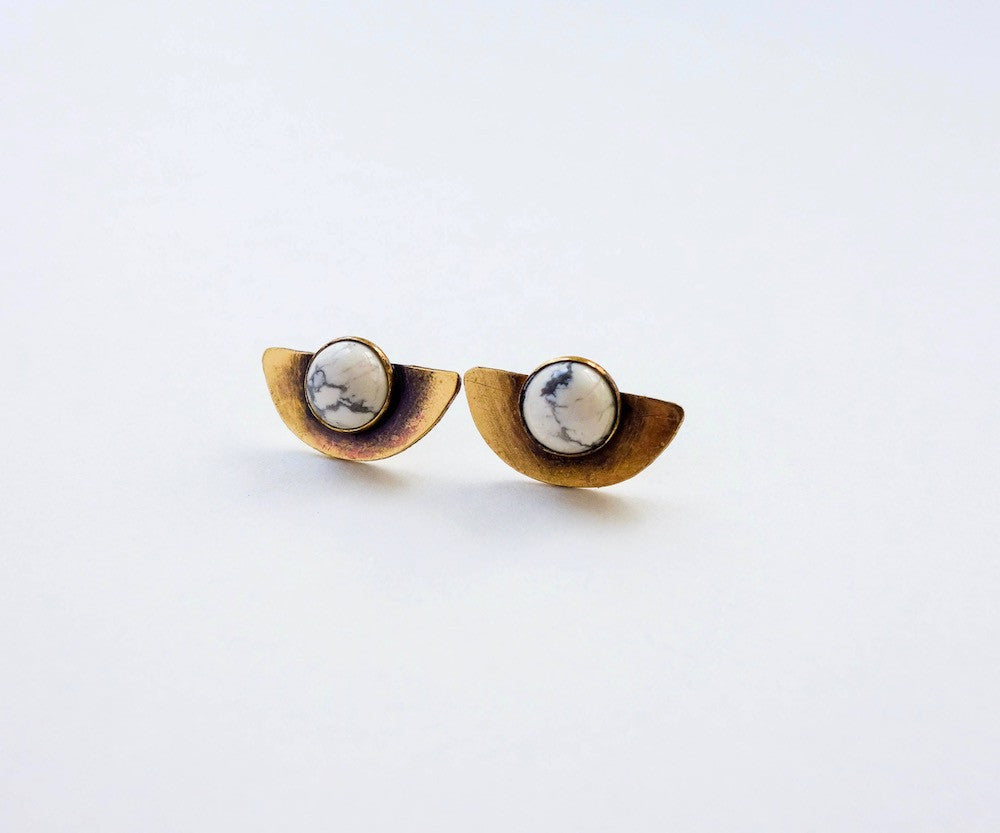 Half Moon Eclipse Earrings