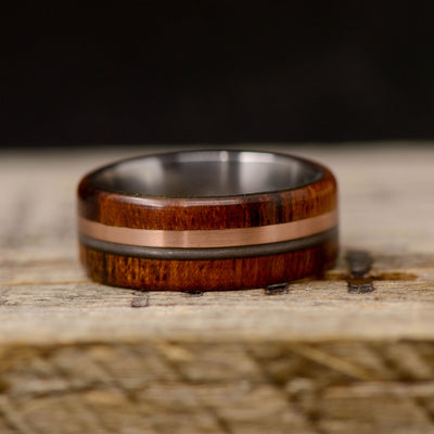 Ironwood, Rose Gold, & Piano String