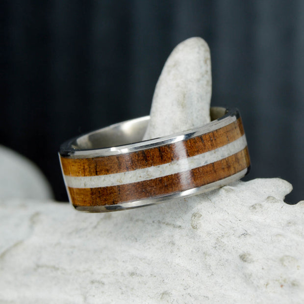 Koa Wood & Antler Channel