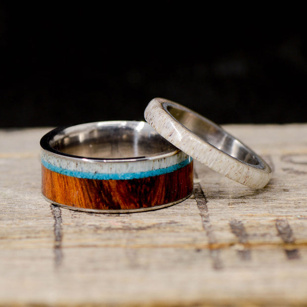 Ironwood, Turquoise, and Antler
