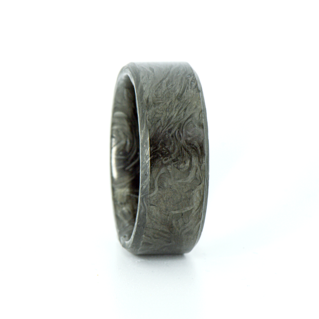 SALE RING - Forged Carbon Fiber - Size 10.5