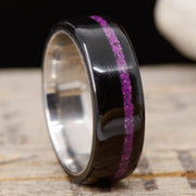 African Blackwood & Offset Purple Sugilite