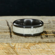 Black Zirconium with Elk Antler ***