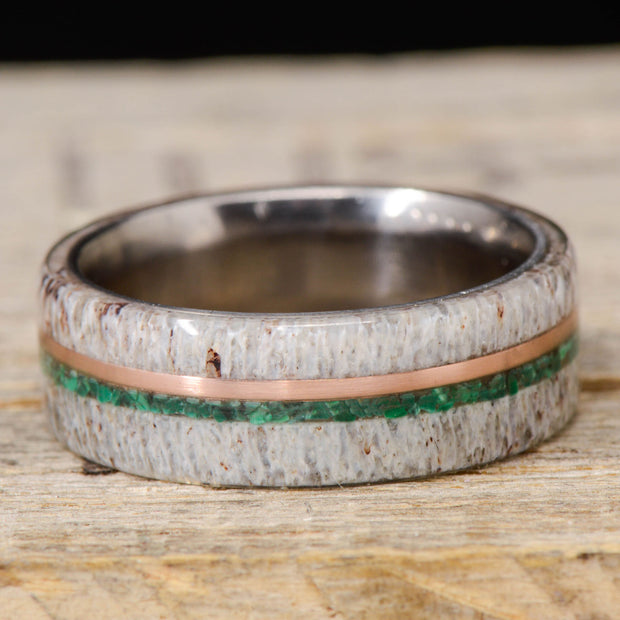 Antler, Rose Gold, & Malachite ***