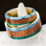 Turquoise, Koa, & Imperial Jade Channels