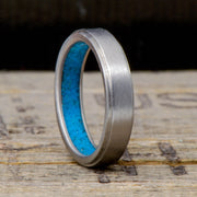 Metal with Turquoise Inside Band