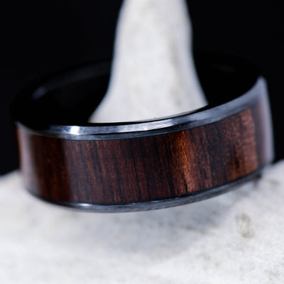 Dark Walnut in Tungsten or Ceramic Channel