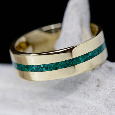 Metal & Green Malachite