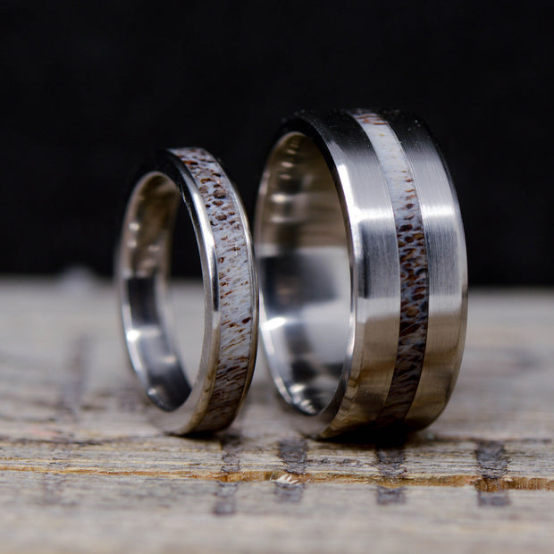 Antler Channel Rings