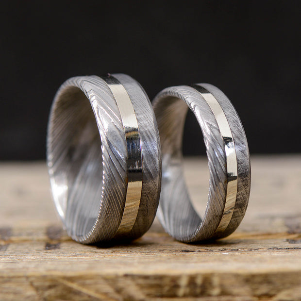 Damascus Steel & Silver