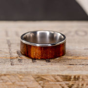 Koa Wood and Metal Lip