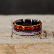 Black Zirconium, Ironwood, Sugilite, & Antler