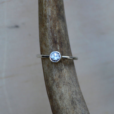 White Gold Diamond Solitaire