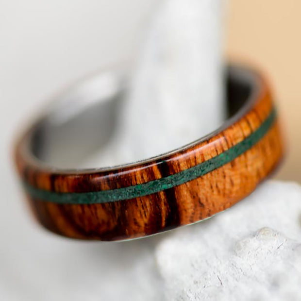 Goncalo Alves & Offset Green Malachite