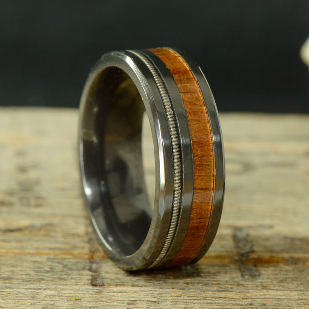 Koa Wood & Guitar String