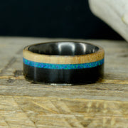 Maple, Blue Opal, & Blackwood