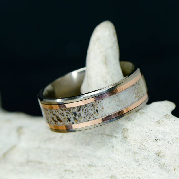 Antler Channel with Rose Gold ***
