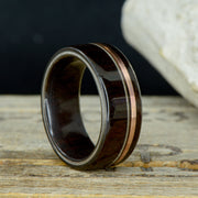 Blackwood, Rose Gold, Guitar String, & Blackwood Inner Band ***