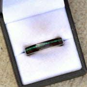African Blackwood & Offset Green Malachite