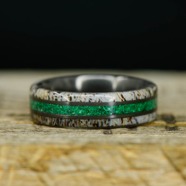 Black Zirconium, Antler, & Malachite