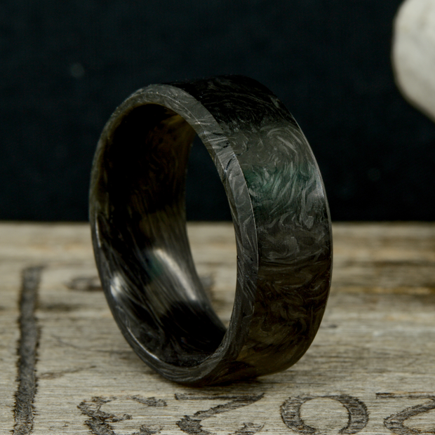 """The Origin"" - Forged Carbon Fiber Ring"