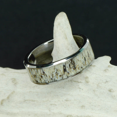 Antler in Tungsten or Ceramic Channel ***