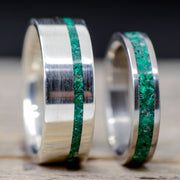 Green Malachite & Metal