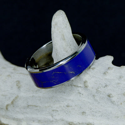 Lapis Lazuli in Tungsten or Ceramic Channel ***
