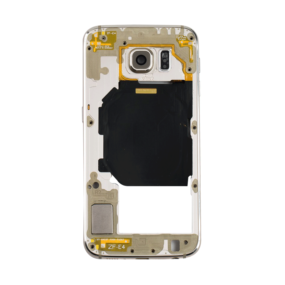 Rear Housing for Samsung Galaxy S6 - Gold